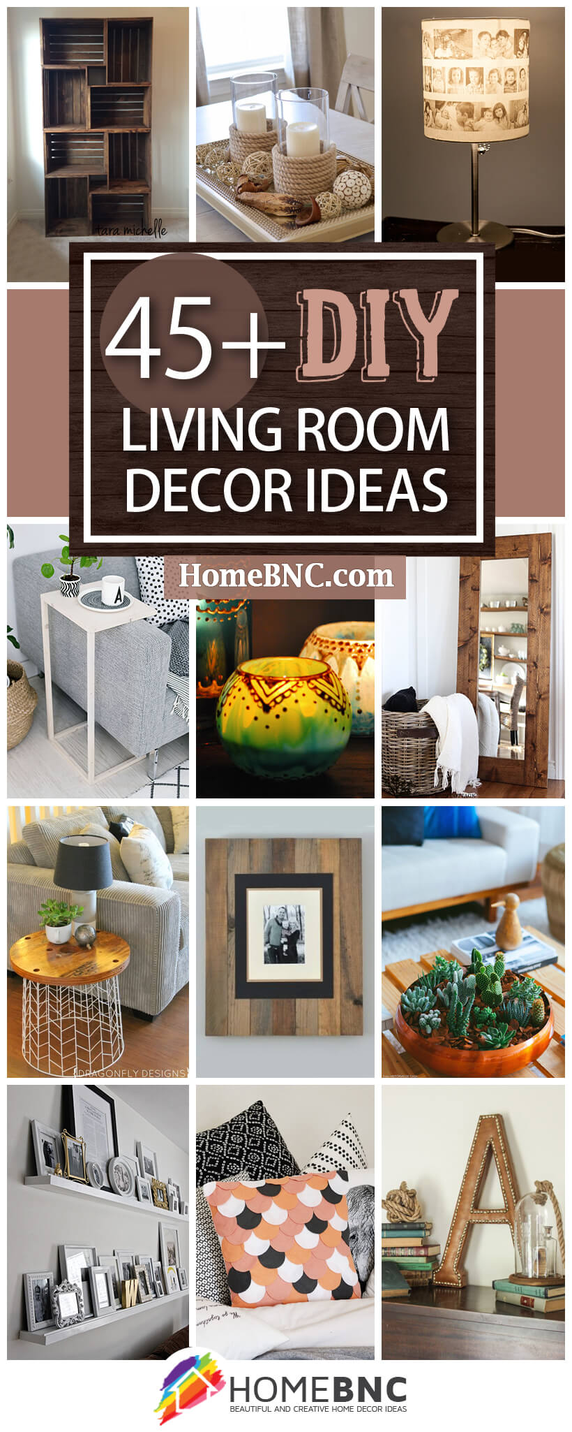 45+ Best DIY Living Room Decorating Ideas and Designs for 2021