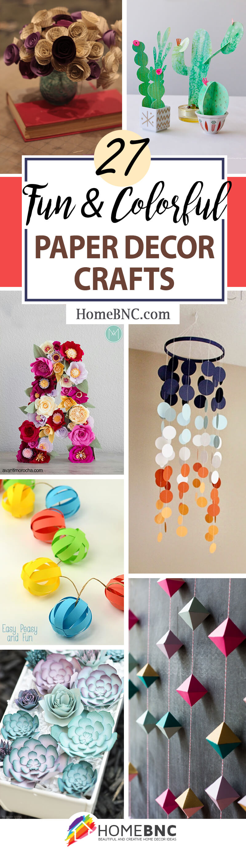 Art Decorating And Crafting 27 Best Paper Decor Crafts Ideas And Designs For 2019