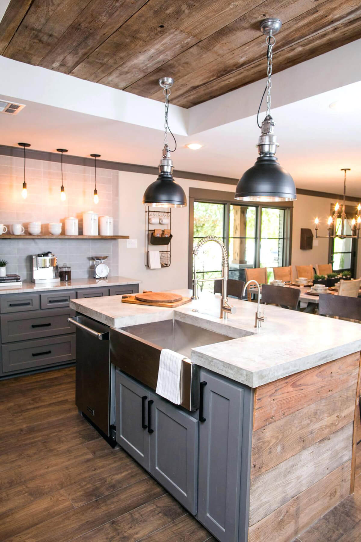 Farm Kitchen Cabinets 35 Best Farmhouse Kitchen Cabinet Ideas And Designs For 2019