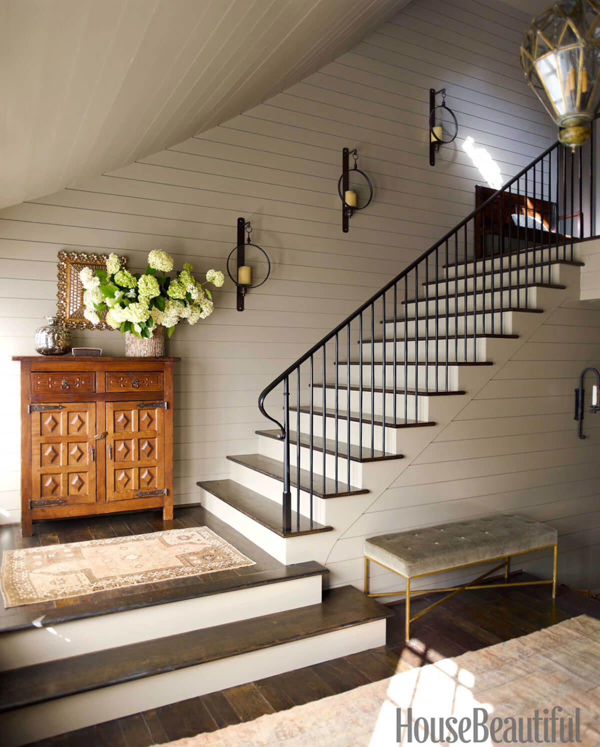 Interior Staircase Ideas 28 Best Stairway Decorating Ideas And Designs For 2019