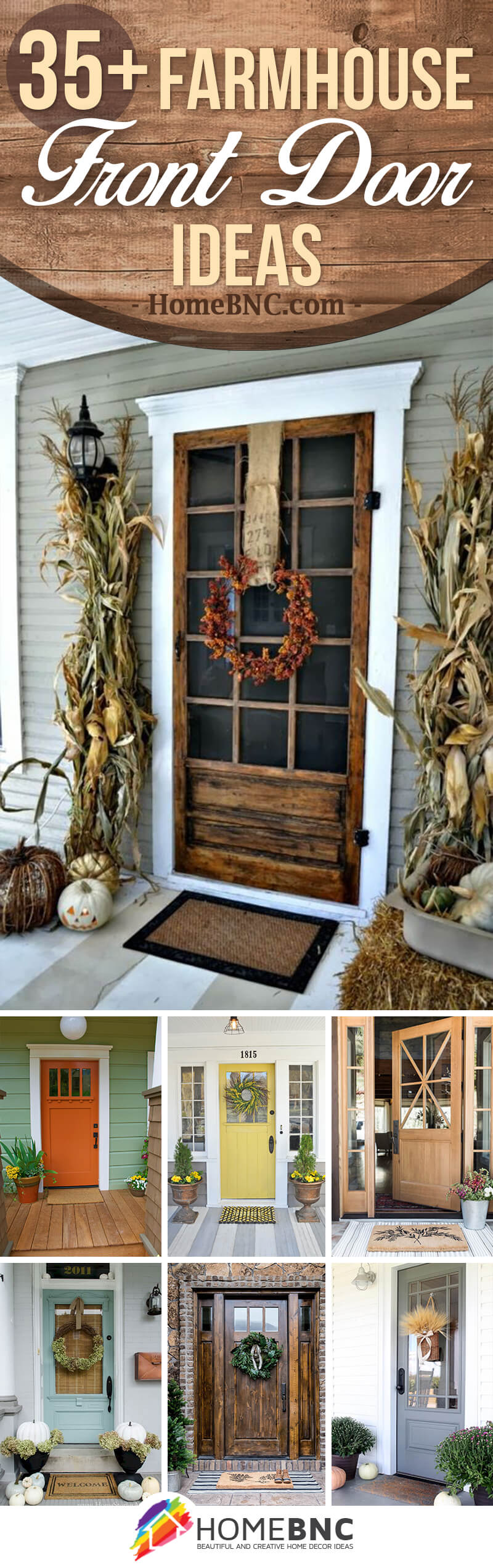 37 Best Farmhouse Front Door Ideas And Designs For 2021