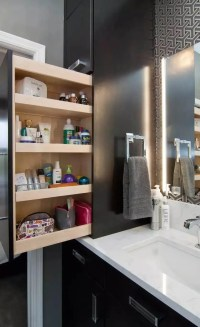25 Best Built-in Bathroom Shelf and Storage Ideas for 2018