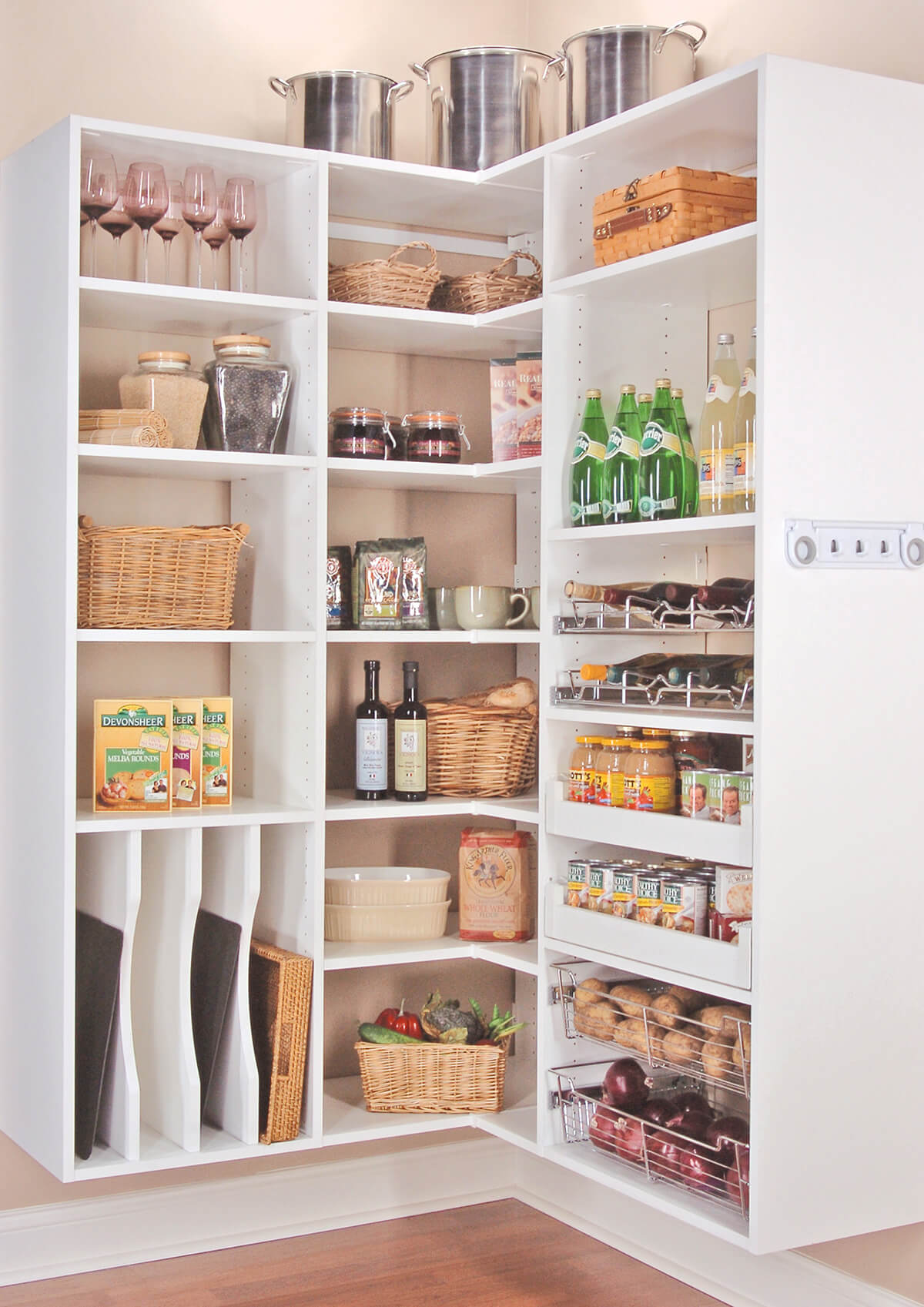 Cupboard Storage Ideas 38 Best Corner Storage Ideas And Designs For 2019