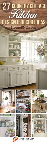 27 Best Country Cottage Style Kitchen Decor Ideas and ...