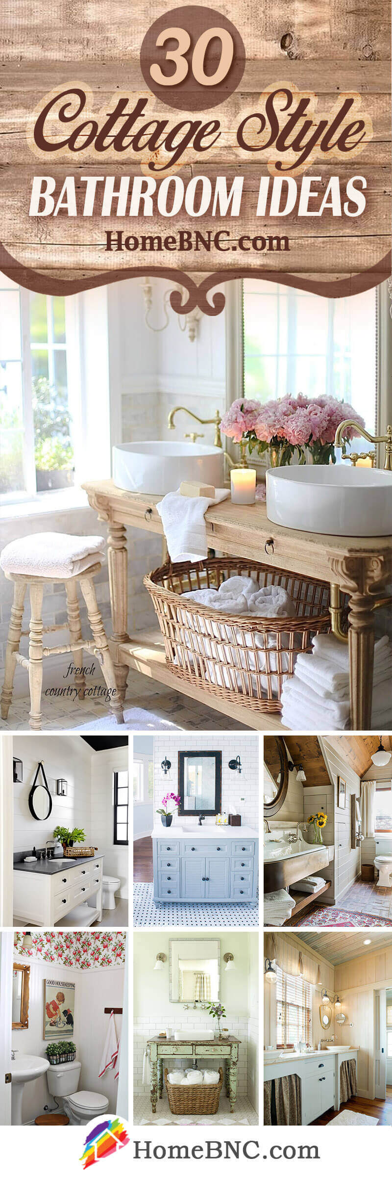 Badezimmer Country Style 30 Best Cottage Style Bathroom Ideas And Designs For 2019