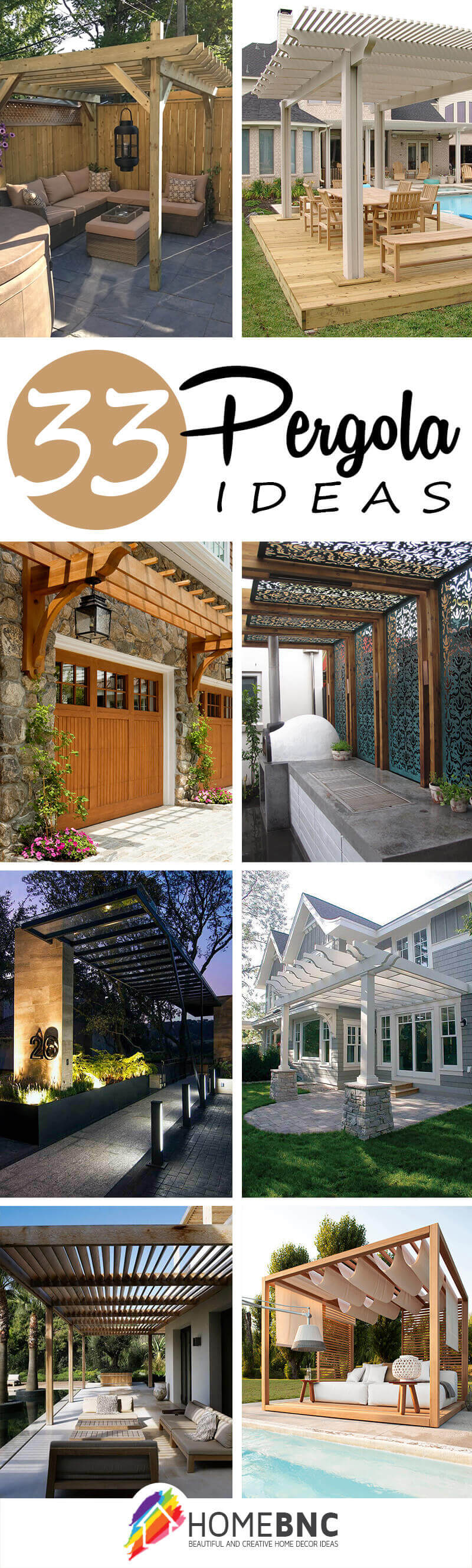 Pergola Designs 32 Best Pergola Ideas And Designs You Will Love In 2019