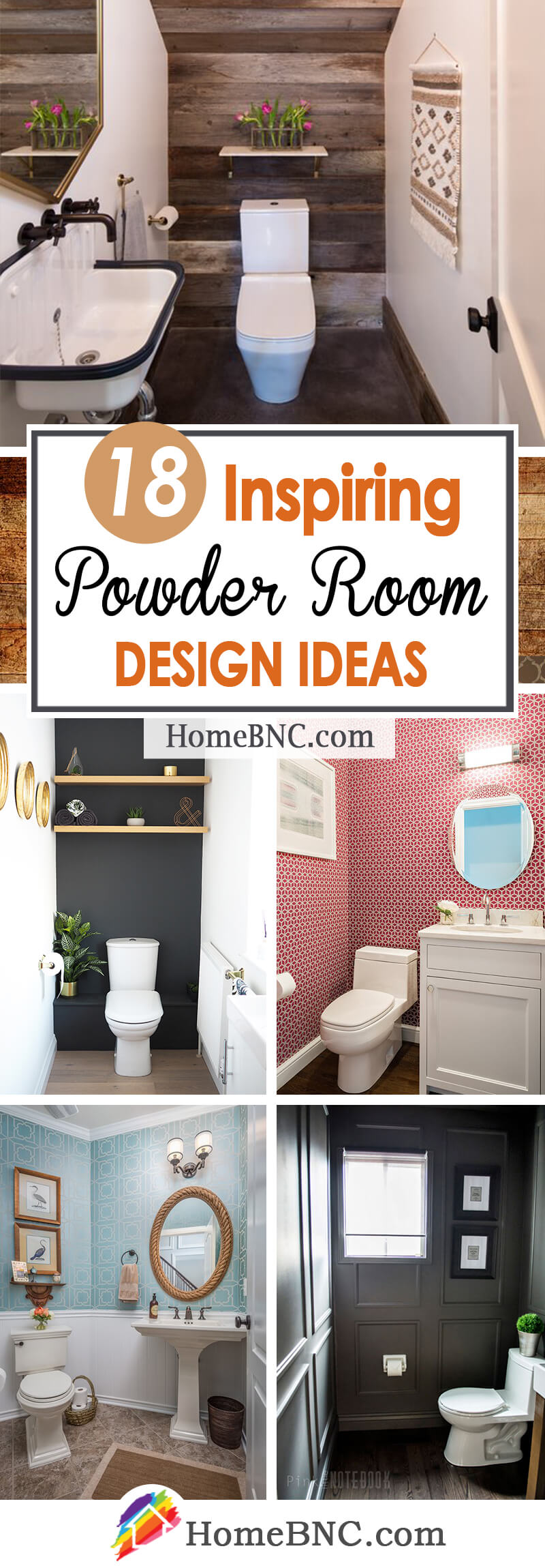 18 Best Powder Room Ideas And Designs For 2021