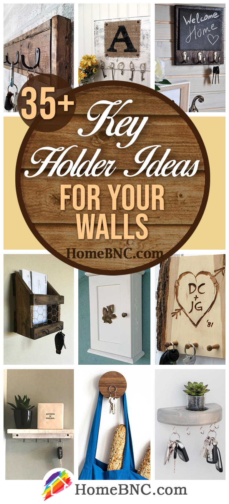 Home Key Holder For Wall 35 Best Key Holder Ideas And Designs For 2019