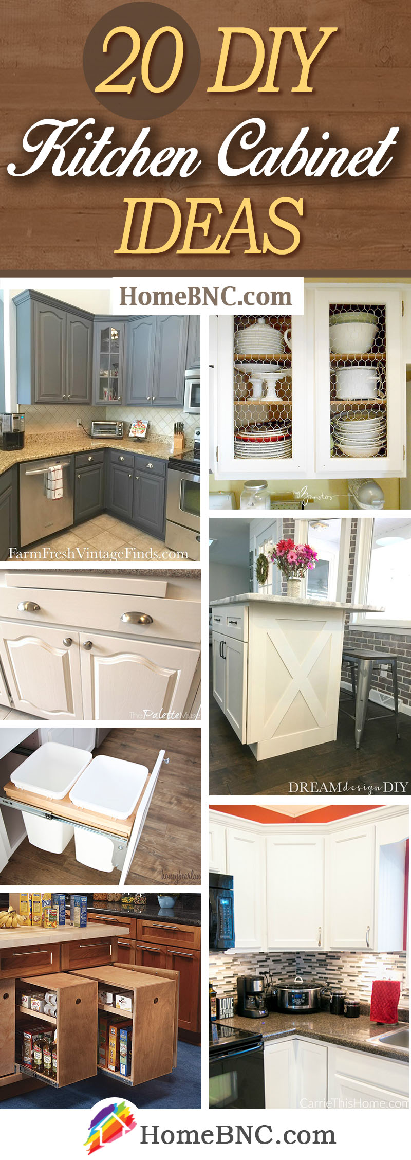 20 Best Diy Kitchen Cabinet Ideas And Designs For 2021