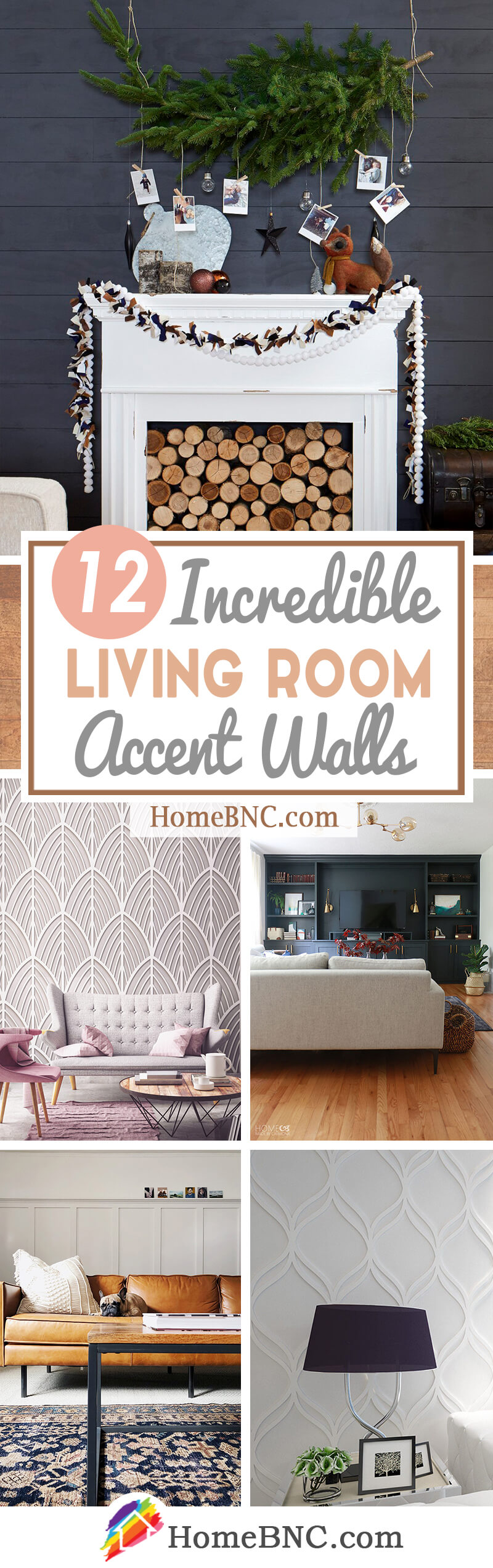 12 Best Living Room Accent Wall Design Ideas For 2021