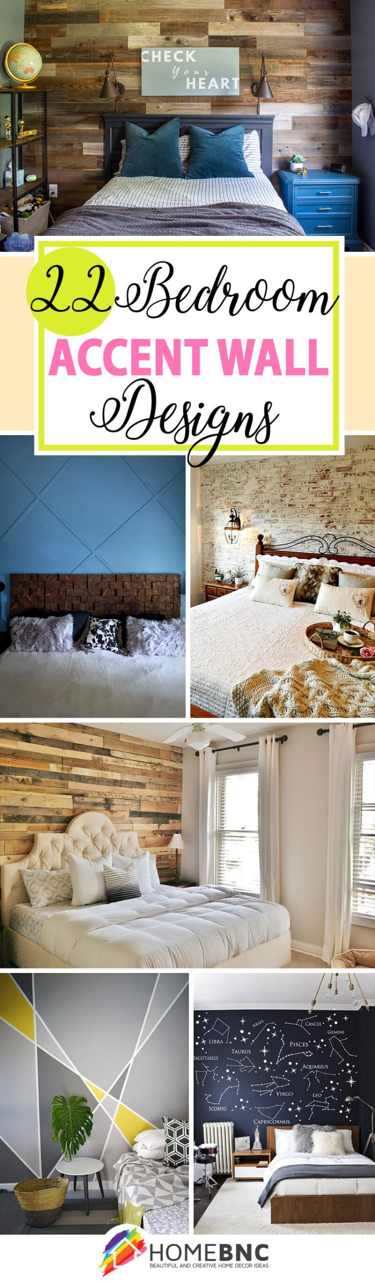 22 Best Bedroom Accent Wall Design Ideas To Update Your Space In 2021