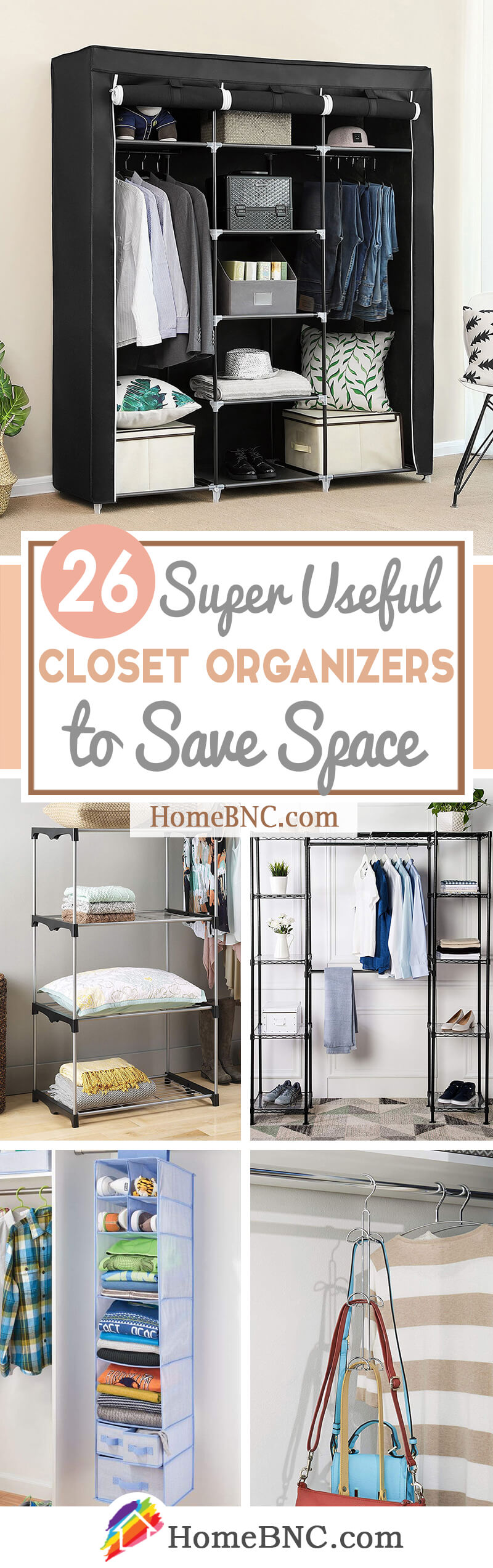 26 Best Closet Organizers That Will Improve Your Home In 2021