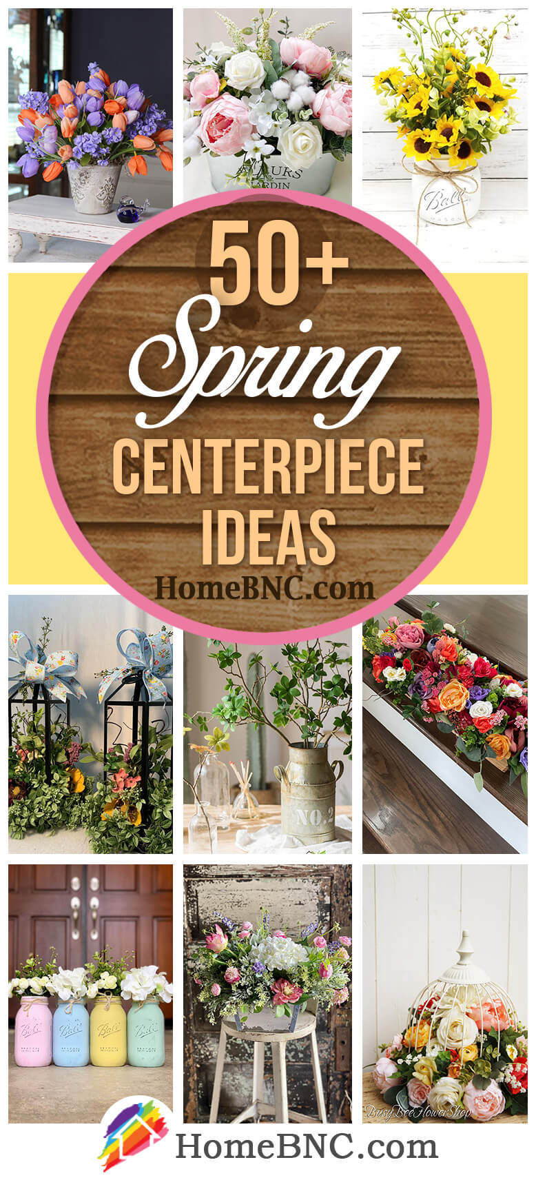 50 Best Spring Centerpiece Ideas And Designs For 2021