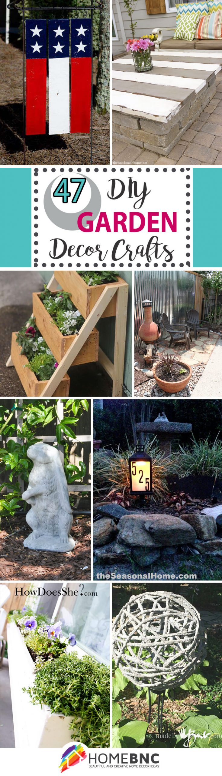 47 Best Diy Garden Crafts Ideas And Designs For 2021