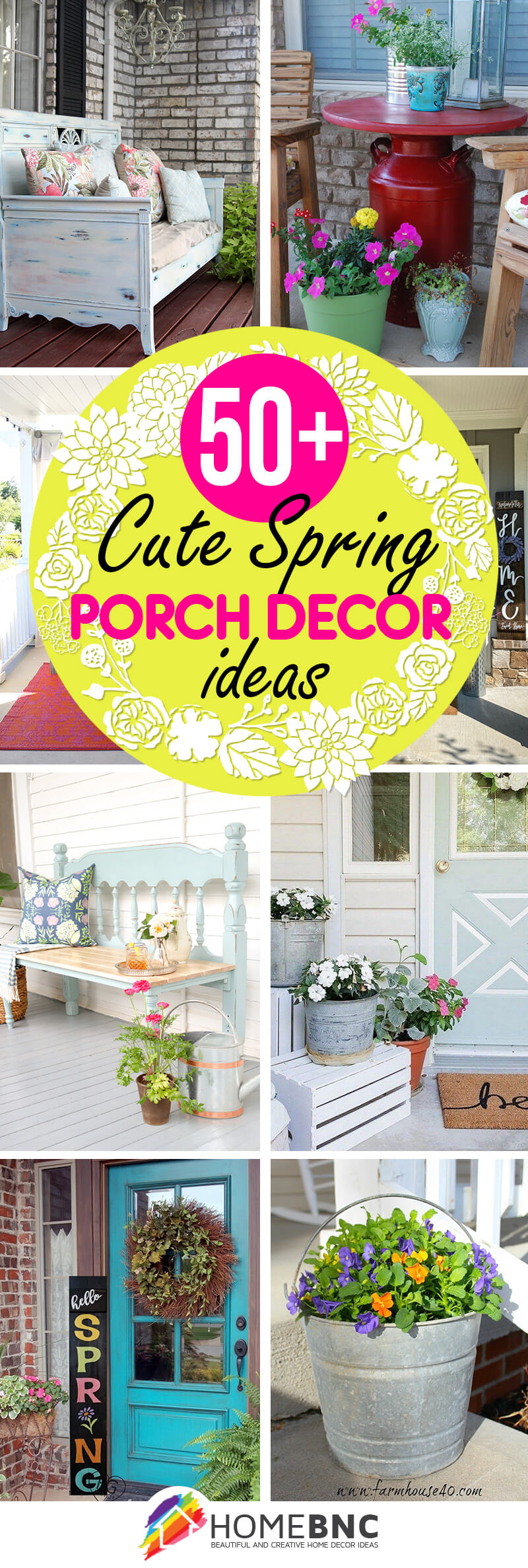 50 Best Spring Porch Decor Ideas And Designs For 2021