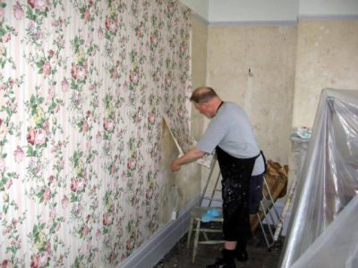 The Best Way To Remove Old Wallpaper | The Homebuilding/Remodel Guide