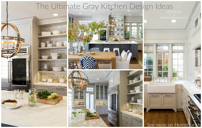 Interior Design Ideas Home Bunch Interior Design Ideas The Ultimate Gray Kitchen Design Ideas - Home Bunch
