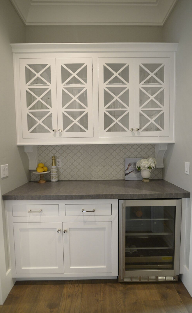Paint Kitchen Cabinet Hardware Silver Neutral Home With Inspiring White & Gray Interiors - Home