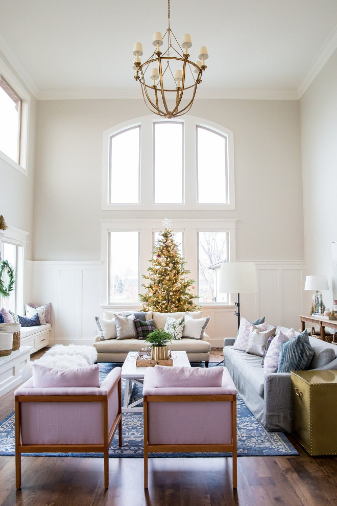 Benjamin Moore Classic Gray Christmas & Interior Decorating Ideas - Home Bunch