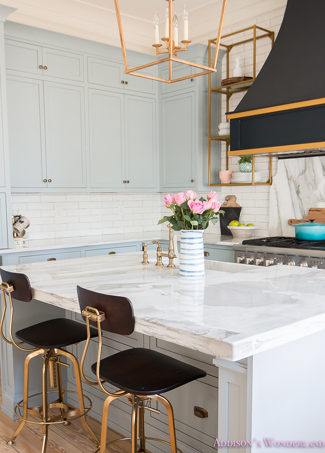 Paint Kitchen Cabinets White Or Black Beautiful Homes Of Instagram - Home Bunch Interior Design