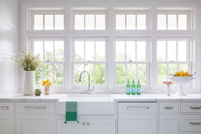 Custom Quarter Sawn Oak Kitchen Cabinets Hamptons-inspired Home With Coastal Colors - Home Bunch