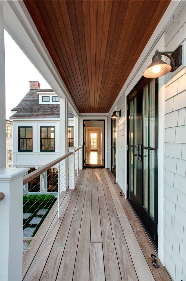 Beach House Outdoor Lighting Beach House With Transitional Interiors - Home Bunch