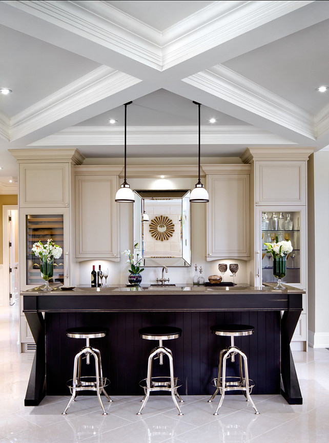Kitchen Island With Cabinets On Both Sides Family Home With Sophisticated Interiors - Home Bunch
