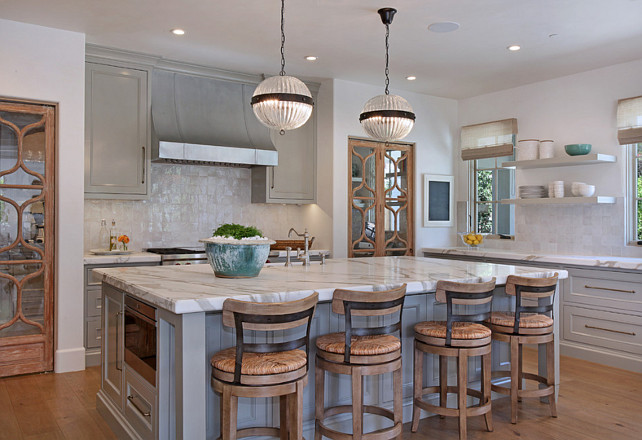Ballard Designs Kitchen Island Transitional French Interior Design - Home Bunch Interior