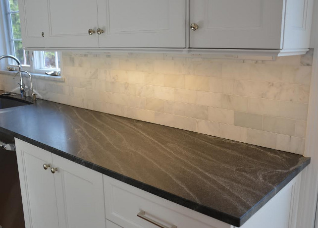 Negresco Honed Leathered Granite For Perimeter Kitchen Kitchen Interior Design Ideas - Home Bunch Interior Design Ideas