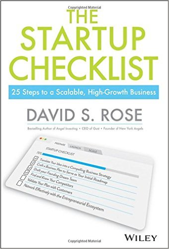 THE STARTUP CHECKLIST 25 Steps to Scalable, High-Growth Business