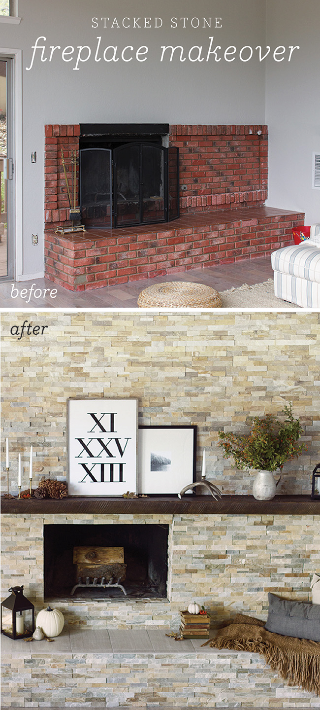 Lime Wash Brick Fireplace Fireplace Facelifts With How To Links Home By Hattan