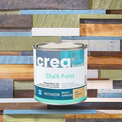 Muebles Atlantico Norte Envejecido Madera Cafe Con Leche 500 Ml Chalk Paint