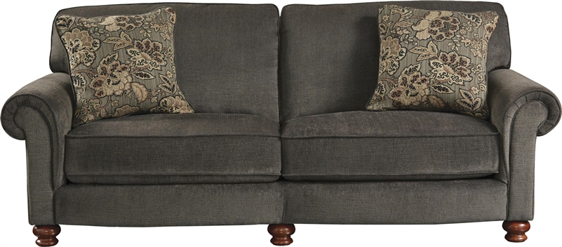 Downing Sofa In Charcoal Fabric By Jackson Furniture - Sofa Ch