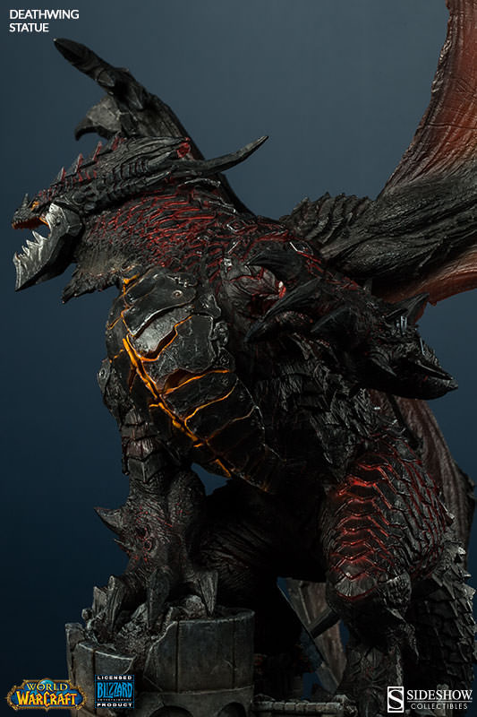 World Of Warcraft Statue Deathwing 65 Cm Sideshow Ss200207