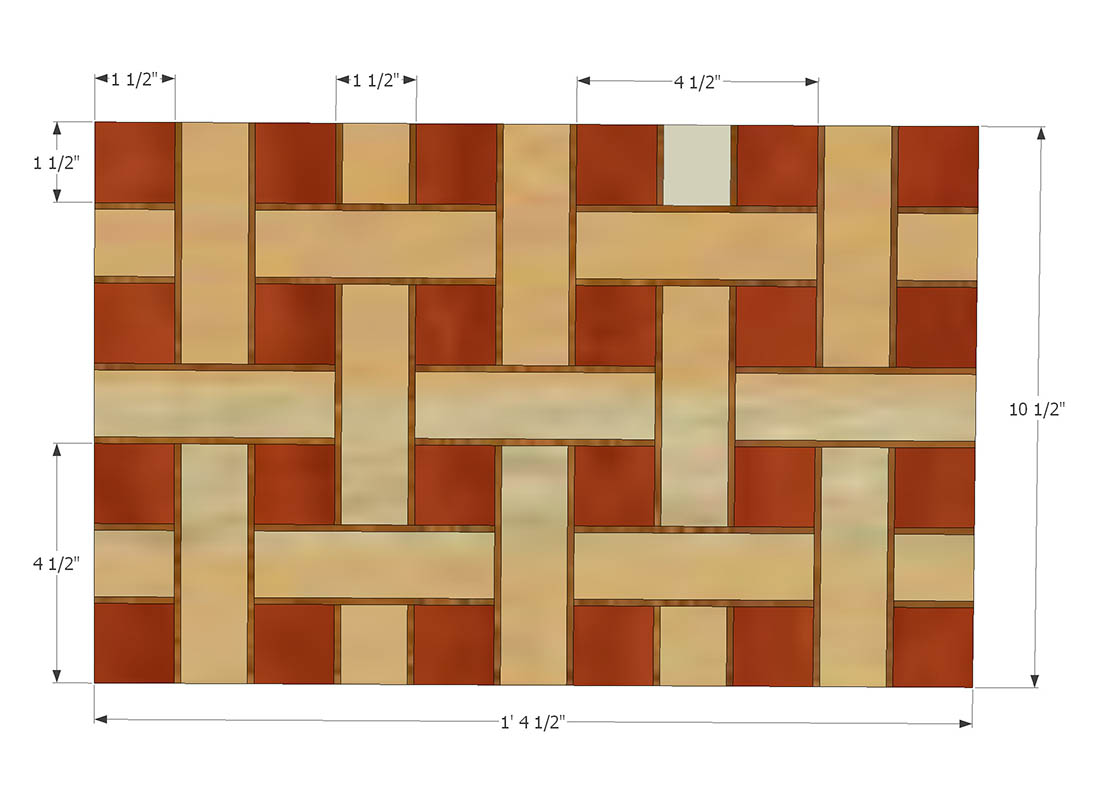 Cool Cutting Board Designs How To Make A Basket Weave Cutting Board