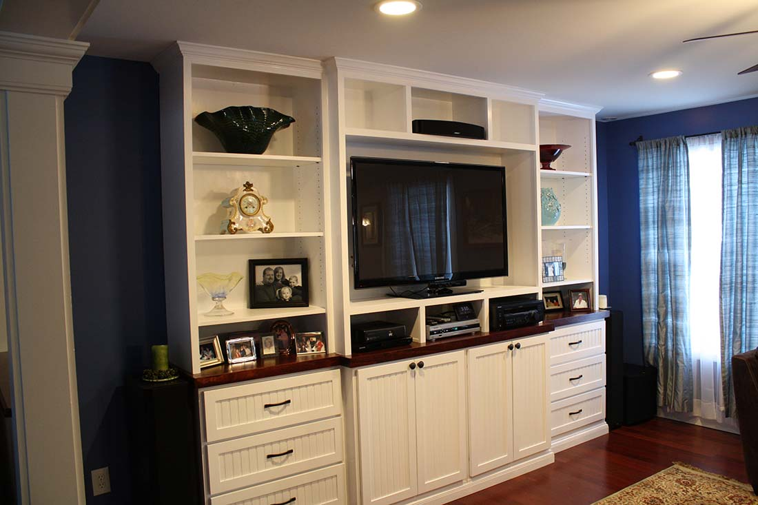 Diy Small Entertainment Center Build Your Own Custom Built In Entertainment Center