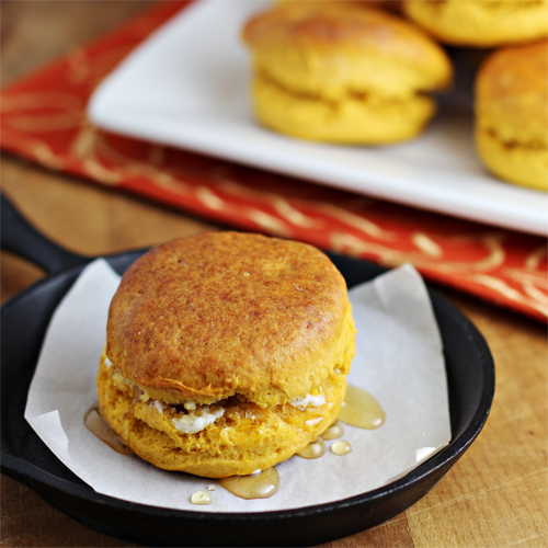 Thanksgiving Leftover Recipes: Sweet Potato Biscuits Recipe - Home