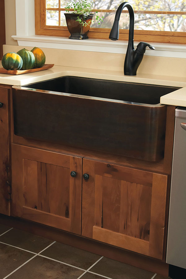 Houzz Store Country Sink Base - Homecrest Cabinetry