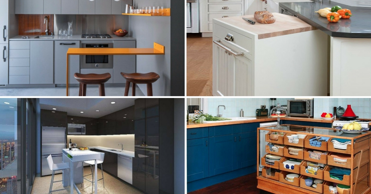 10 Creative Kitchen Island For Your Small Apartment