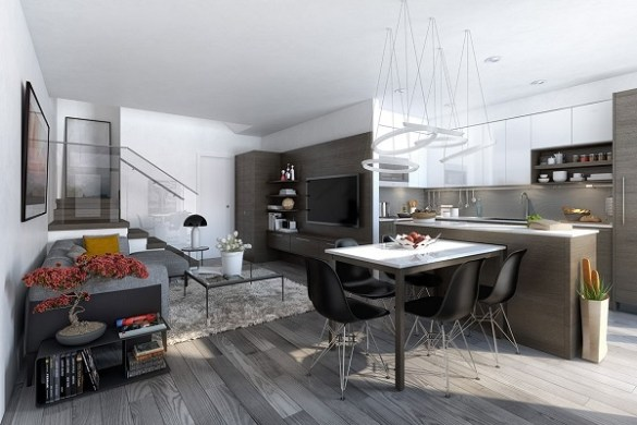 Apartment-Using-White-Walls-Cabinetry-Ceiling-Really-Makes-Open-Space-Feel-Bigger-Open-Concept-Apartment-Open-Concept-Apartment