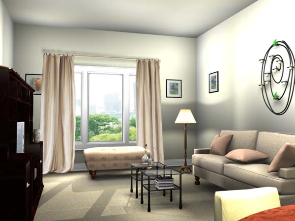 Make Small Living Room Look Bigger - how to make a small living room look bigger