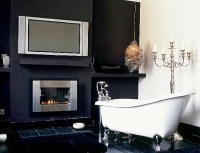 Tips To Create Traditional Bathroom Designs With Black And ...