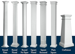 Pillars in Living Spaces