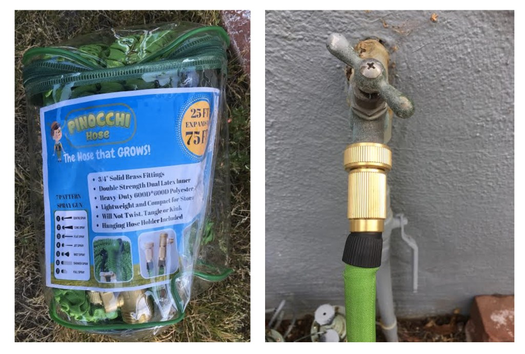 Pinocchi Hose: The Hose That Grows Garden Hose