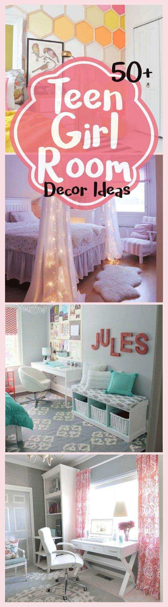 34 Cool And Simple Teen Girl Bedroom Ideas For Small Rooms