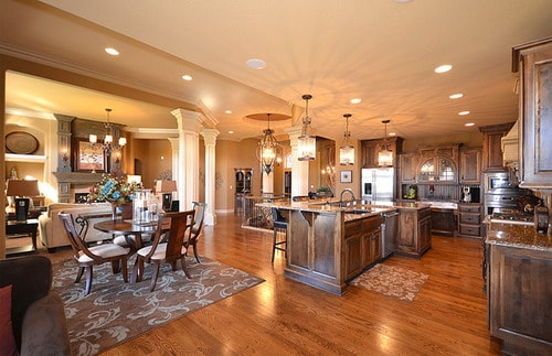open concept kitchen living room open kitchen family open concept kitchen living room designs home interior ideas