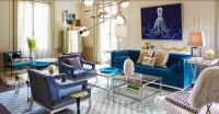 10 Breathtaking Blue Sofa Designs for This Summer