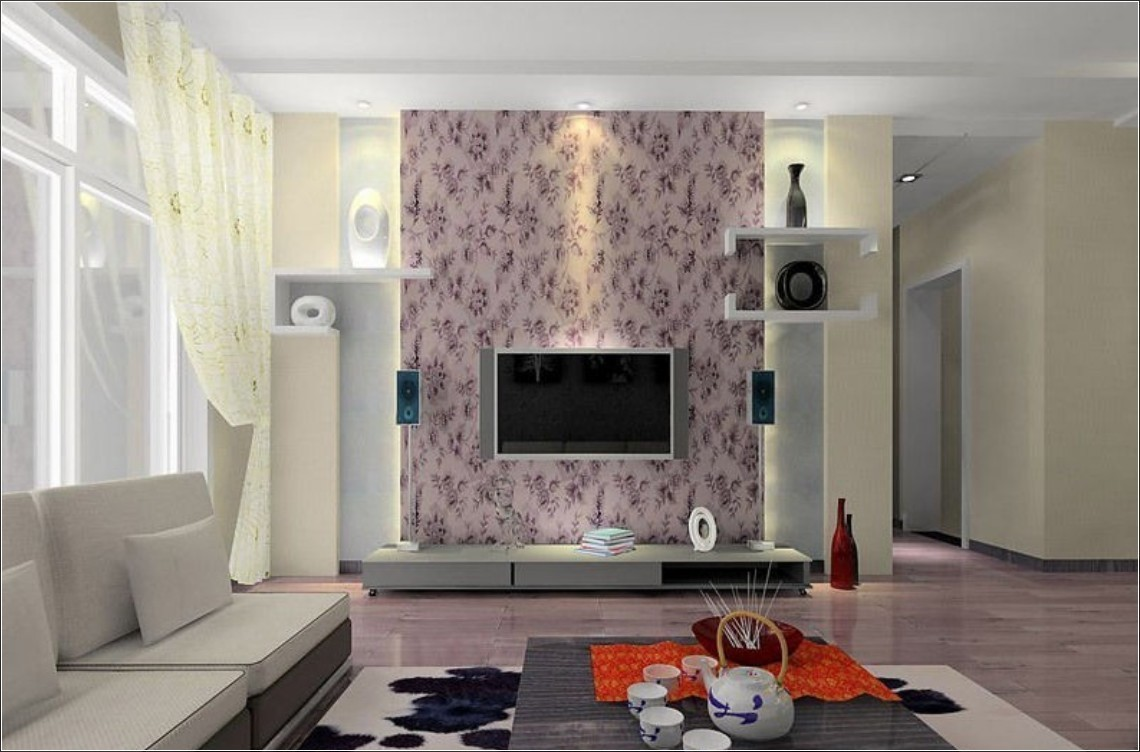 Wohnzimmer Tapeten Ideen Wallpapers For Living Room Design Ideas In Uk