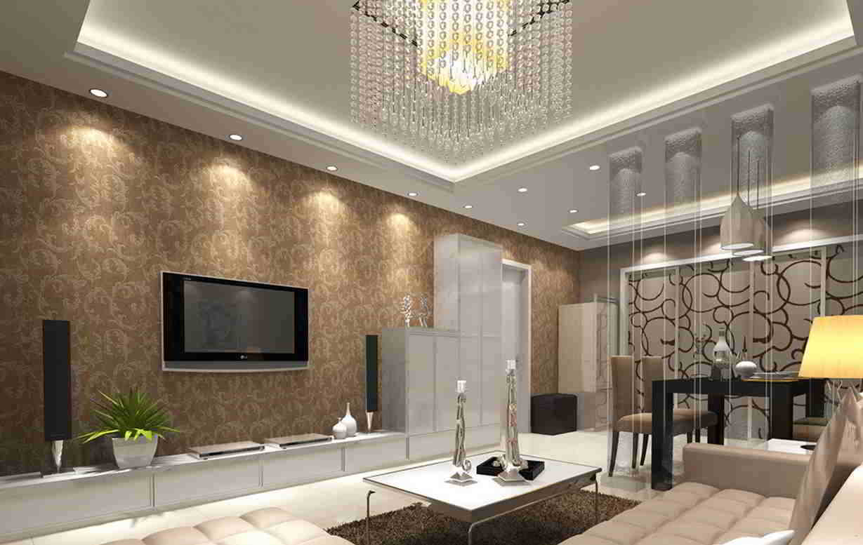 Ideeen Behang Woonkamer Wallpapers For Living Room Design Ideas In Uk