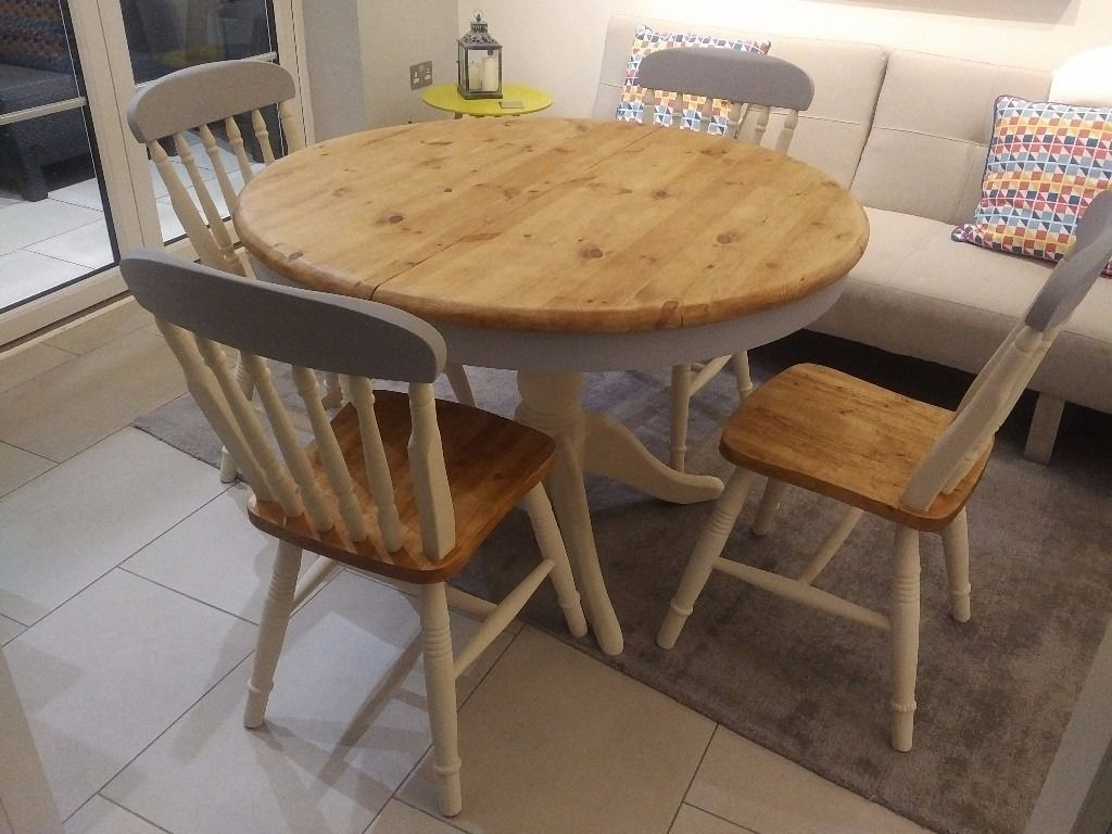 Diy Shabby Chic Dining Table And Chairs Top 50 Shabby Chic Round Dining Table And Chairs Home